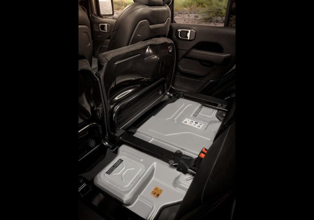 2021 Jeep Wrangler Rubicon 4xe Menzili