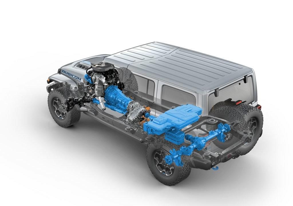 2021 Yeni Jeep Wrangler Rubicon 4xe