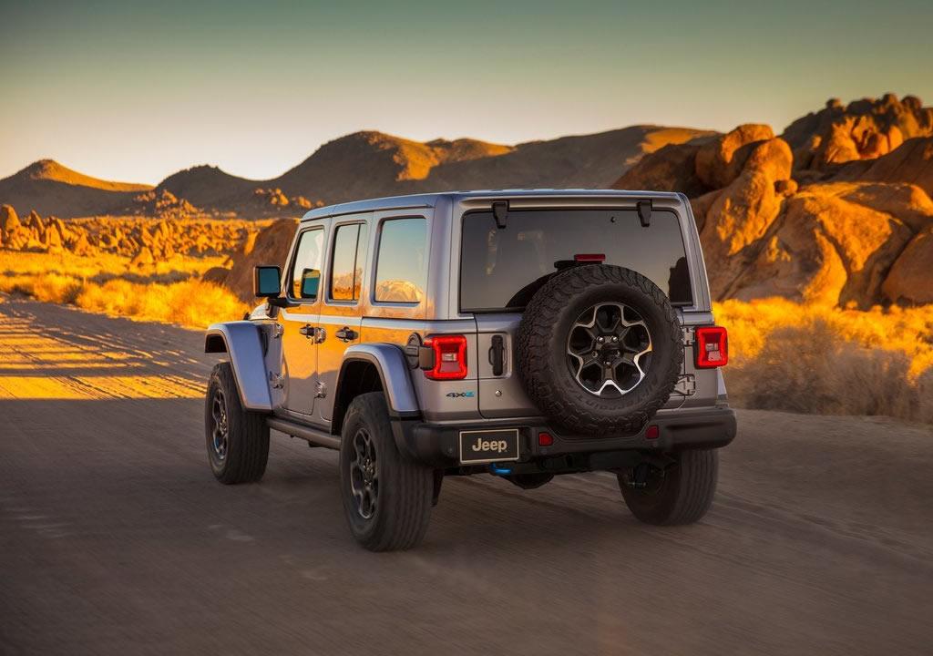 2021 Jeep Wrangler Rubicon 4xe Özellikleri