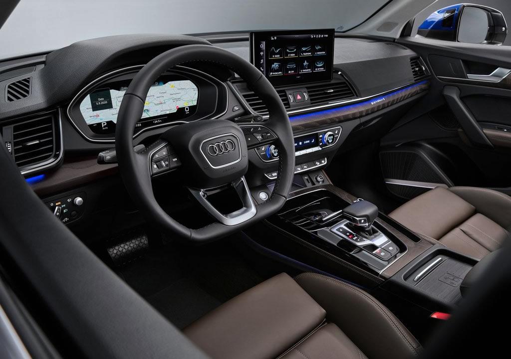 2021 Yeni Audi Q5 Sportback Kokpiti