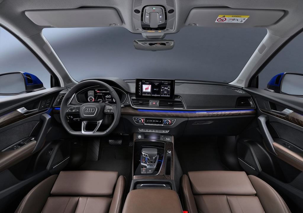 2021 Yeni Audi Q5 Sportback İçi