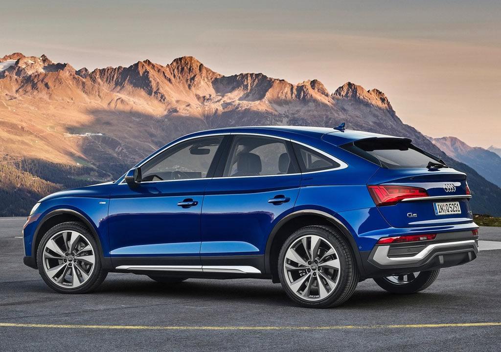 2021 Yeni Audi Q5 Sportback Teknik Özellikleri
