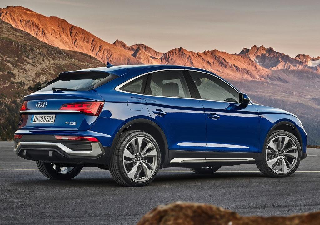 2021 Yeni Audi Q5 Sportback Türkiye
