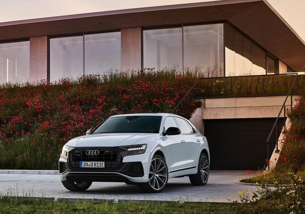 2021 Yeni Audi Q8 TFSI e Quattro Fotoğrafları