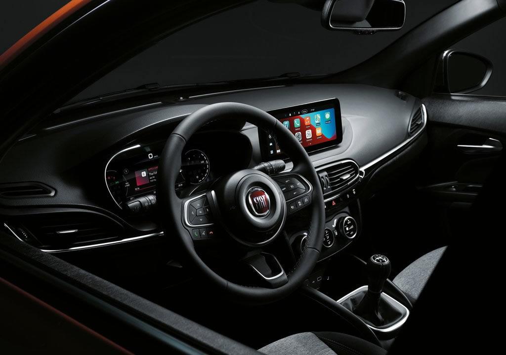 2021 Yeni Fiat Tipo (Egea) Cross Kokpiti
