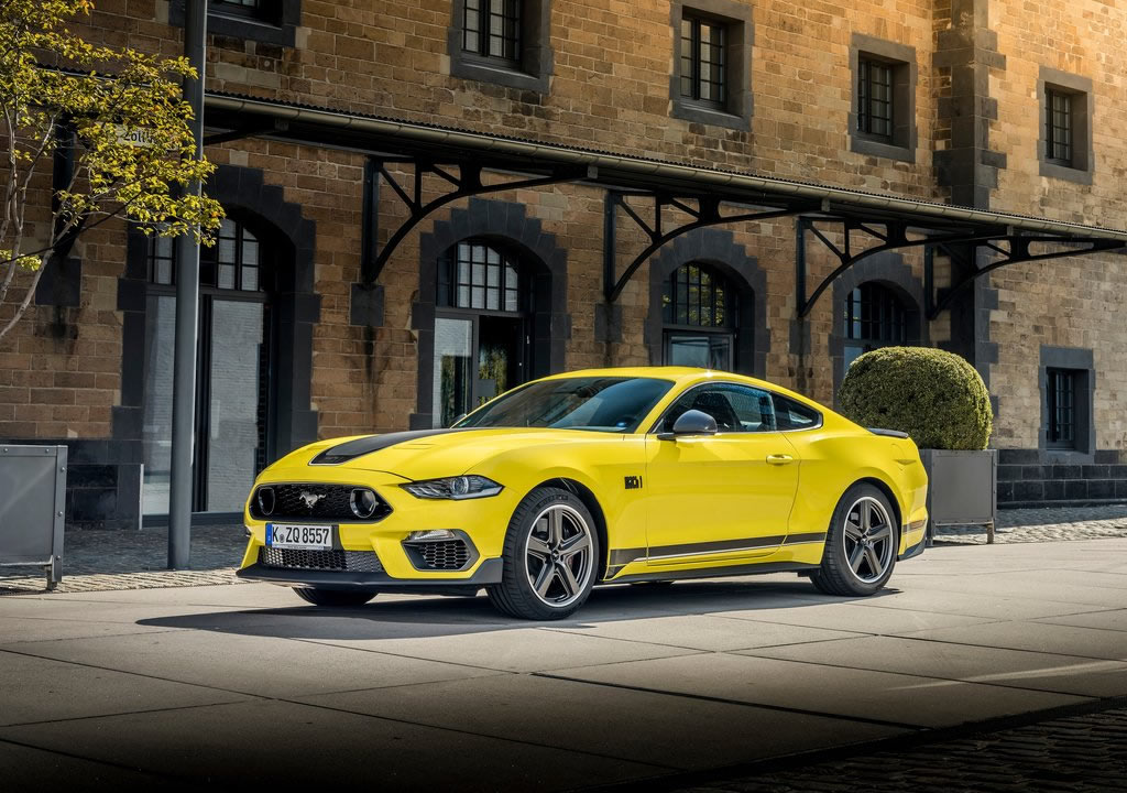 2021 Yeni Ford Mustang Mach 1