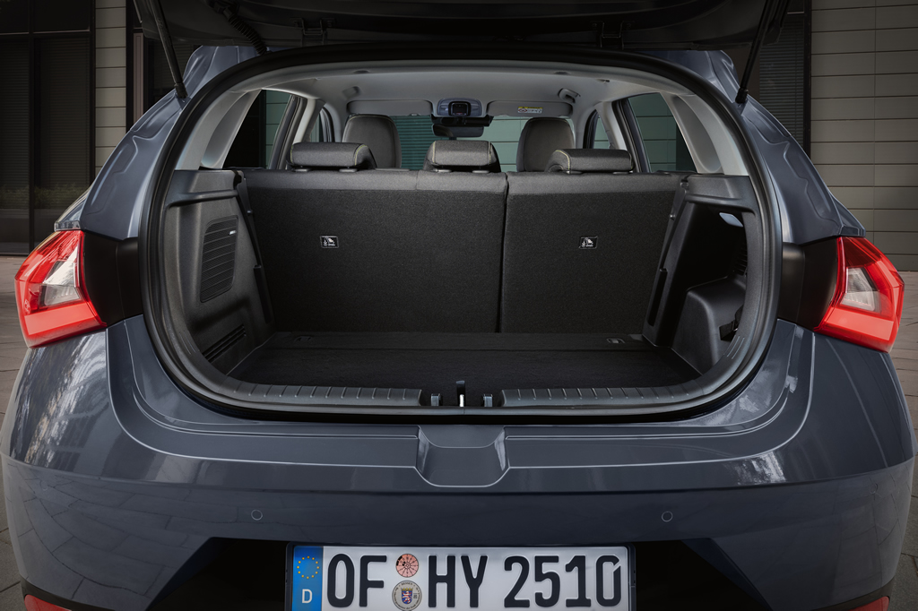 2021 Yeni Kasa Hyundai i20 Bagajı