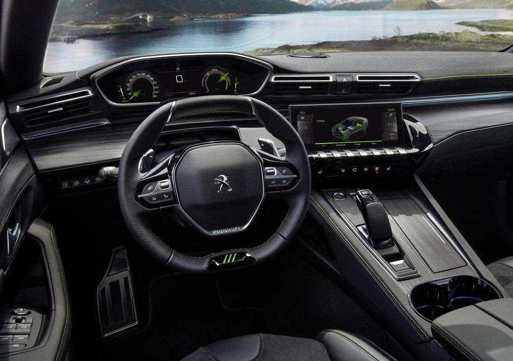 2021 Yeni Peugeot 508 PSE Kokpiti