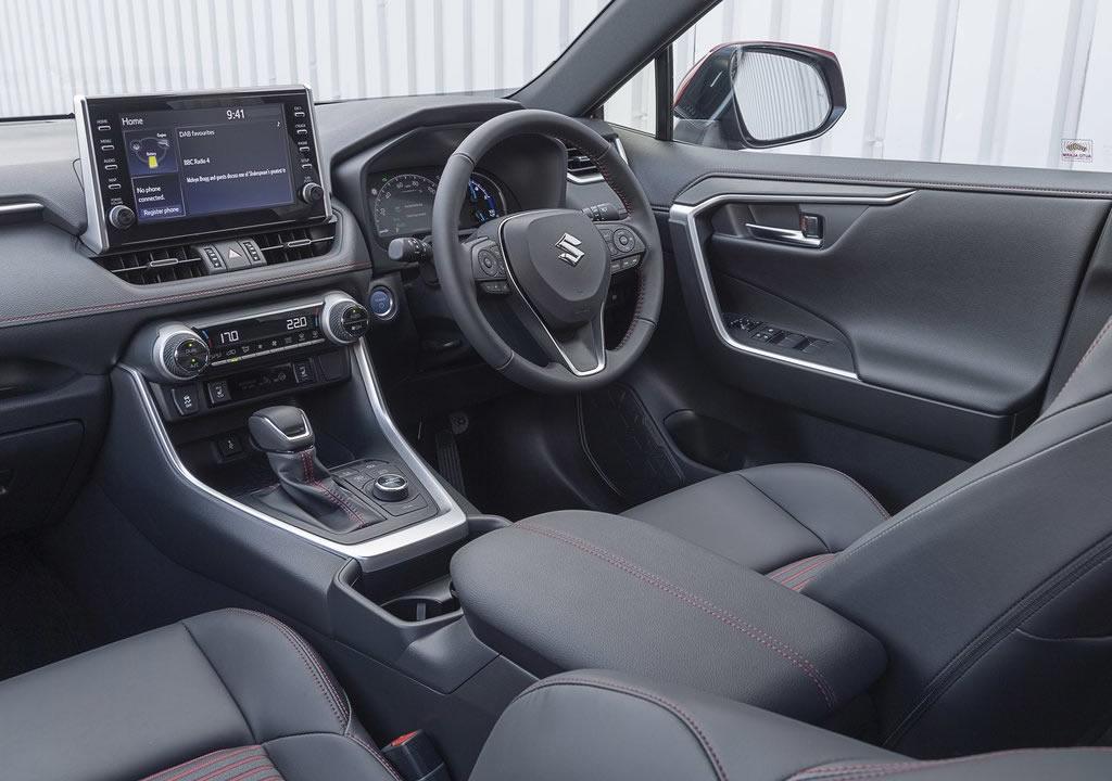 2021 Yeni Suzuki Across Kokpiti