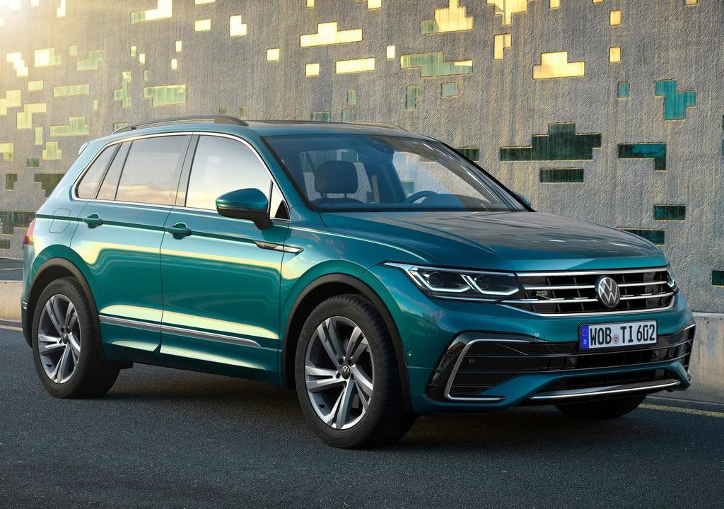 Makyajlı 2021 Yeni VW Tiguan Türkiye Fiyatı
