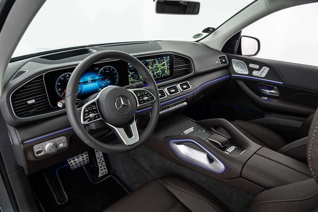 Brabus 2020 Mercedes GLE 350 de Kokpiti