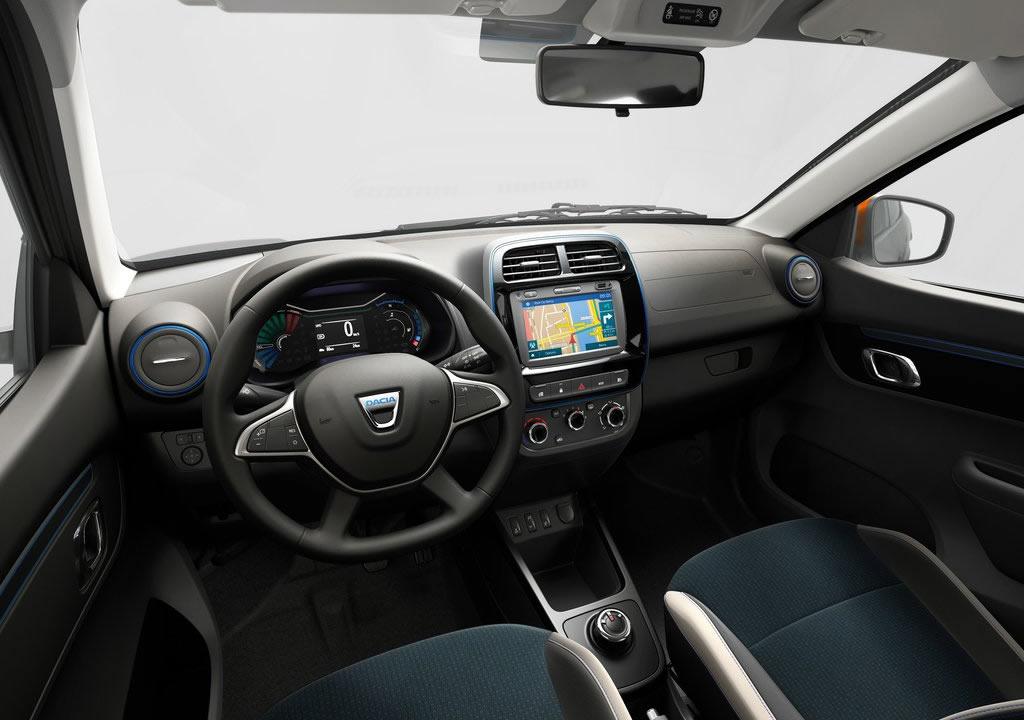 2022 Yeni Dacia Spring Kokpiti