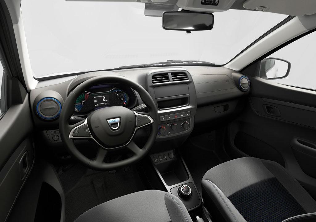 2022 Yeni Dacia Spring İçi