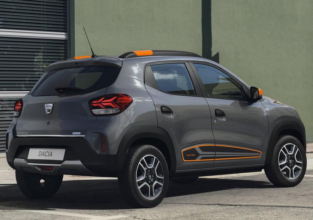 Elektrikli 2022 Yeni Dacia Spring