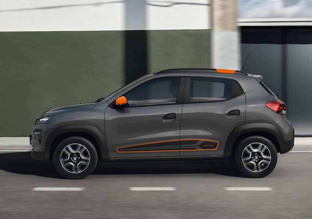 Elektrikli 2022 Yeni Dacia Spring Menzili