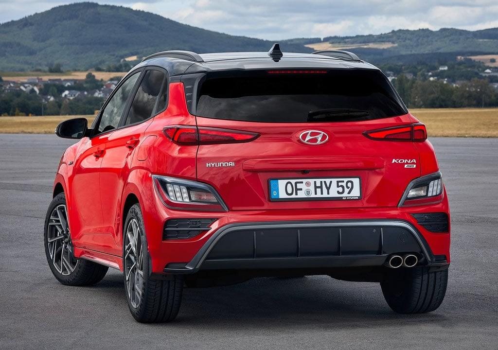 Makyajlı 2021 Hyundai Kona Teknik Özellikleri