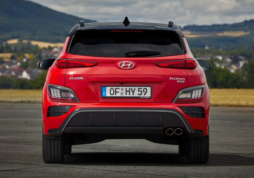 Makyajlı 2021 Hyundai Kona Fotoğrafları