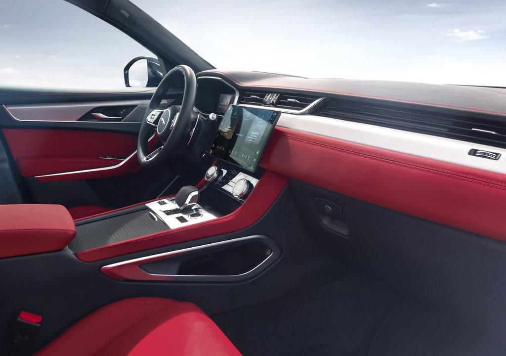 Makyajlı 2021 Jaguar F-Pace Donanımları