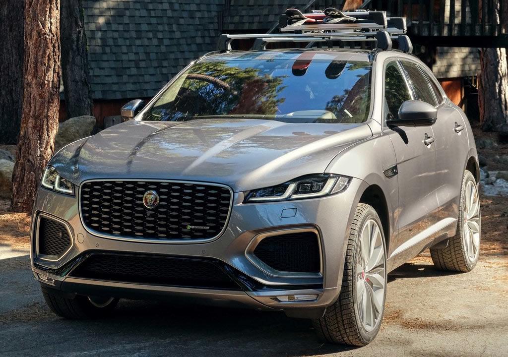 Makyajlı 2021 Jaguar F-Pace