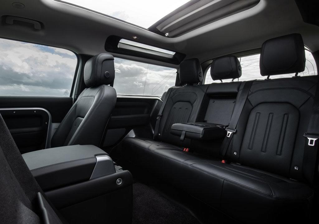 2021 Land Rover Defender 90 Donanımları
