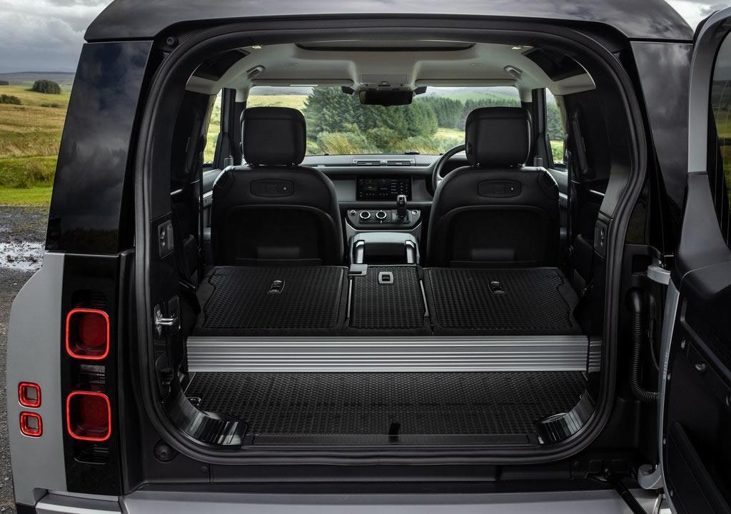 2021 Land Rover Defender 90 Bagaj Alanı