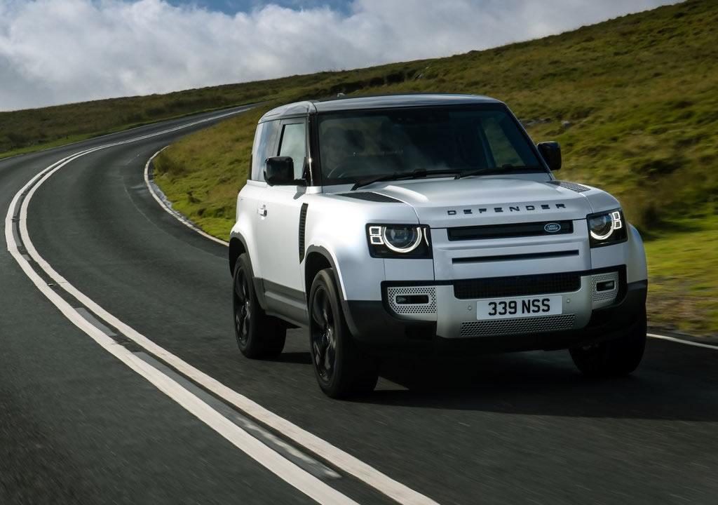 Makyajlı 2021 Land Rover Defender 90