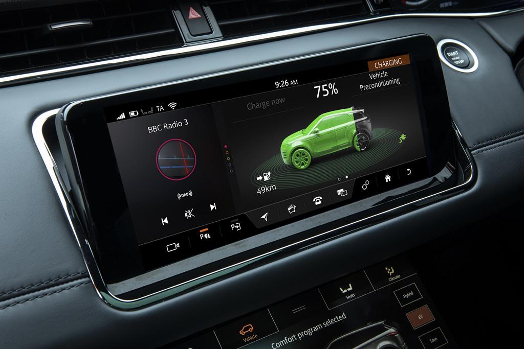 Yeni Range Rover Evoque PHEV 300 Donanımları