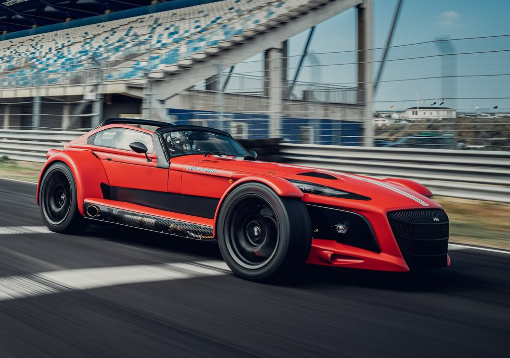 2021 Donkervoort D8 GTO-JD70 R 0-100 km/s