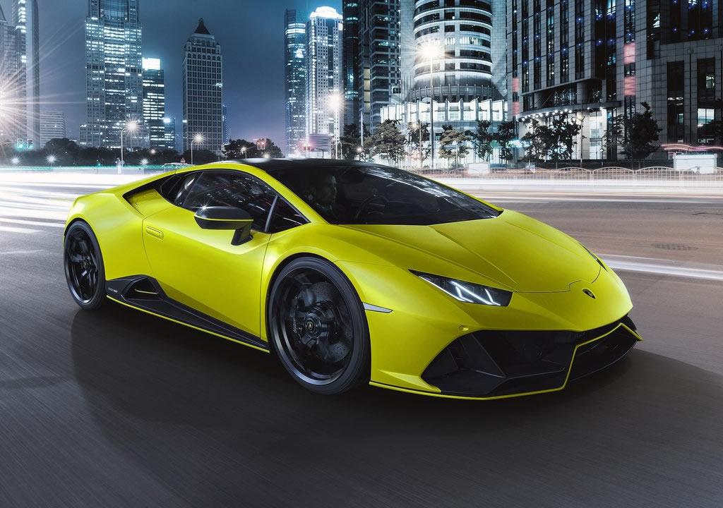 2021 Lamborghini Huracan Evo Fluo Capsule Teknik Özellikleri
