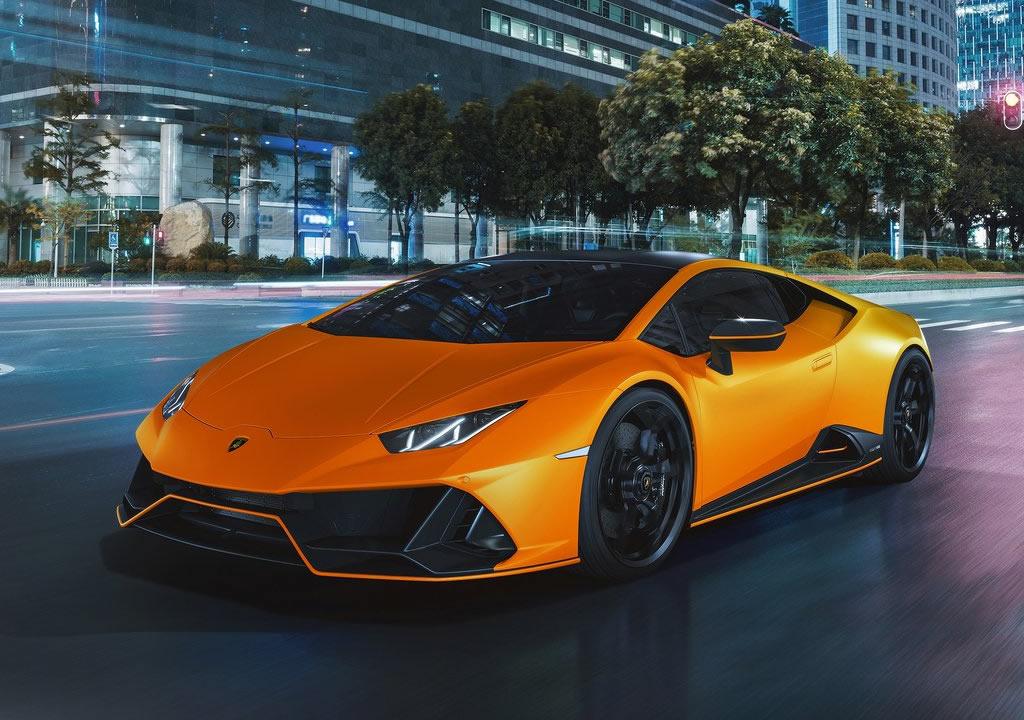 2021 Lamborghini Huracan Evo Fluo Capsule Donanımları