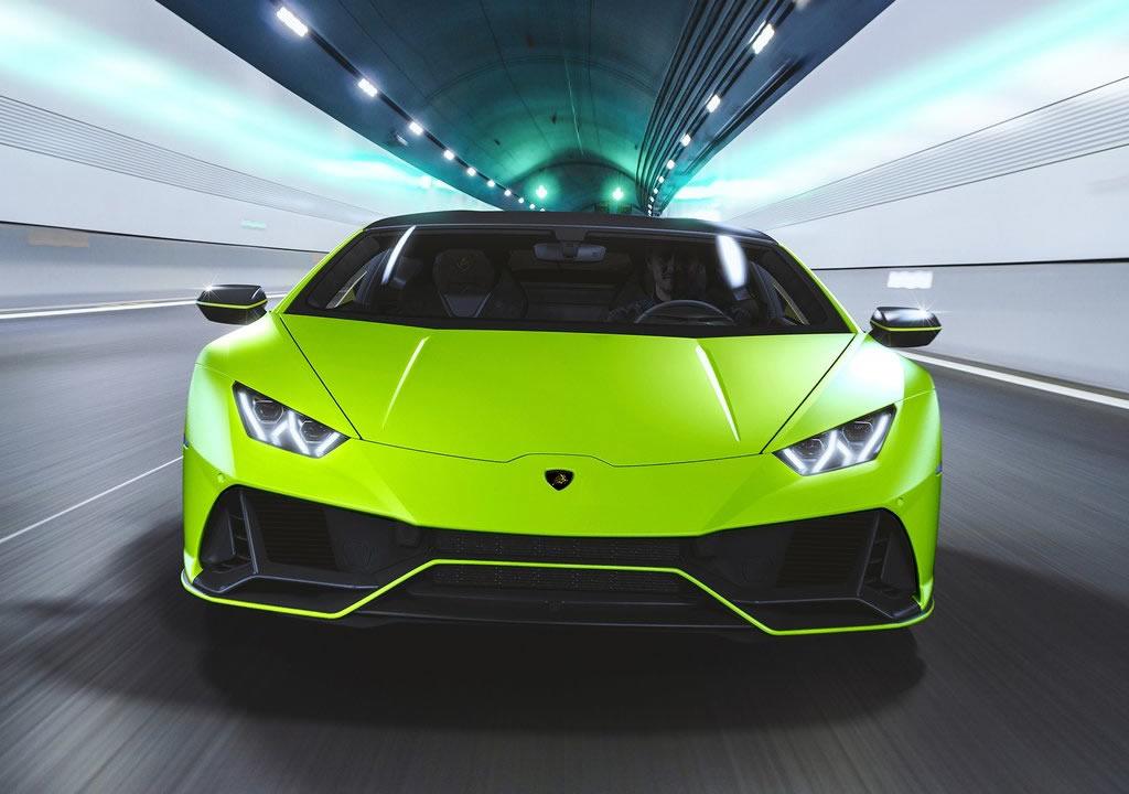 2021 Lamborghini Huracan Evo Fluo Capsule Fotoğrafları