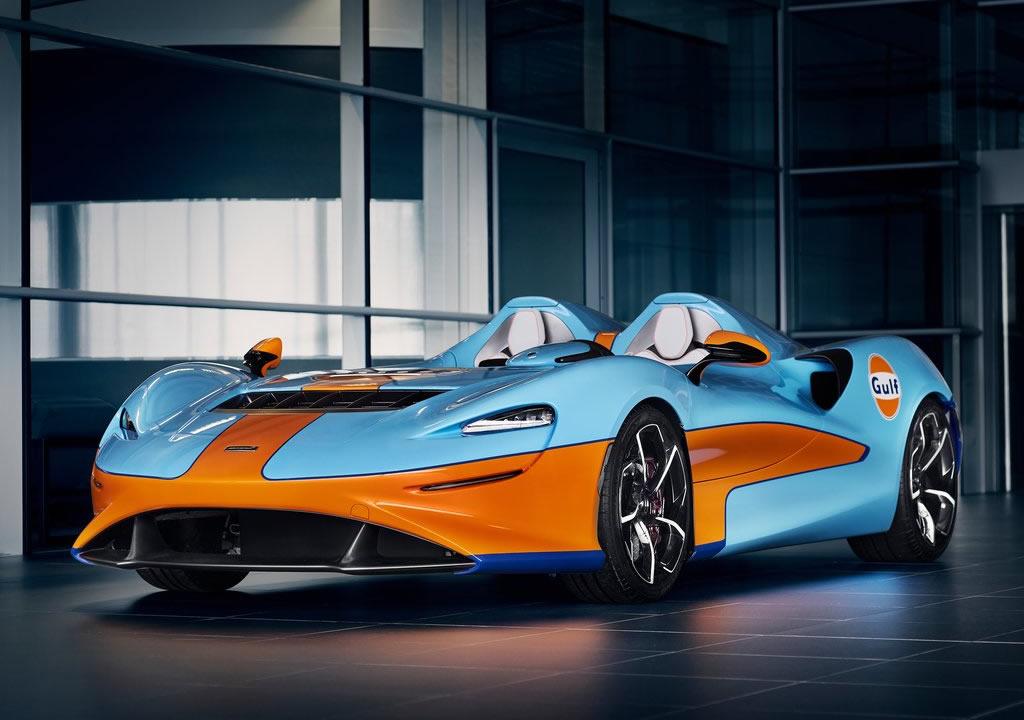 815 PS'lik 2021 McLaren Elva Gulf Theme by MSO Özellikleri