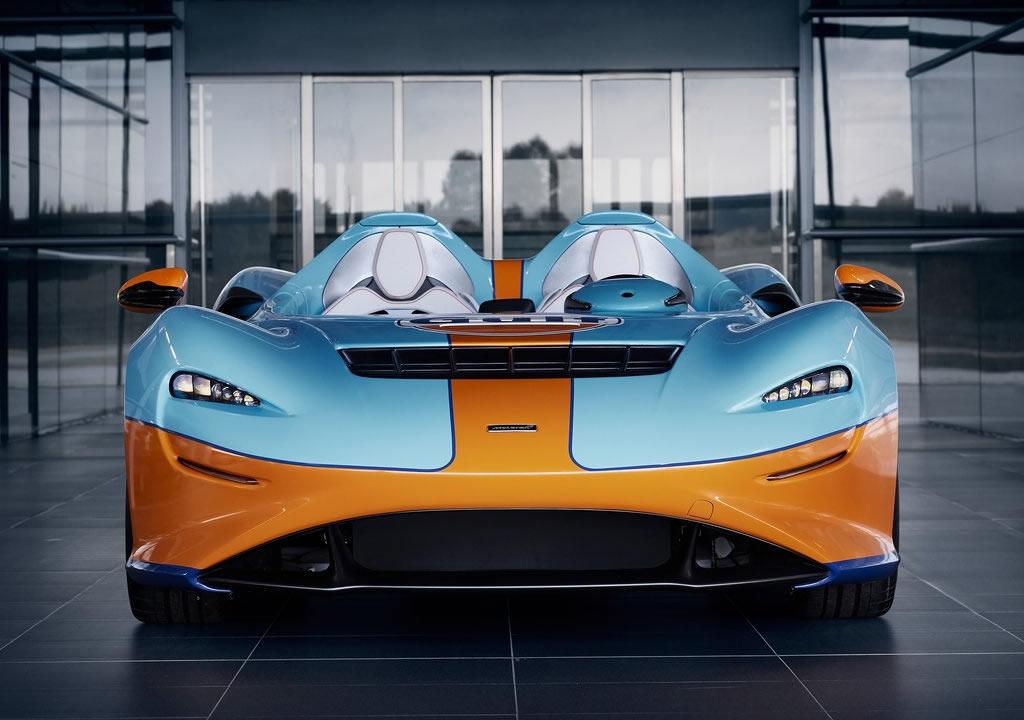 2021 McLaren Elva Gulf Theme by MSO Donanımları