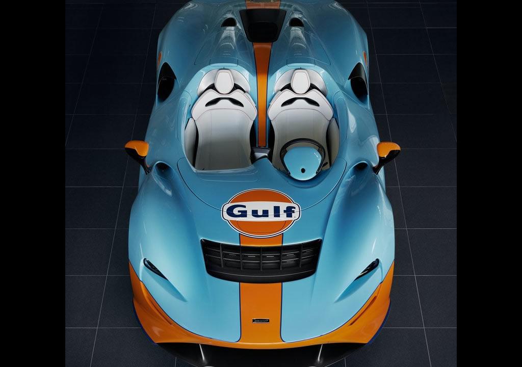 2021 McLaren Elva Gulf Theme by MSO Fotoğrafları