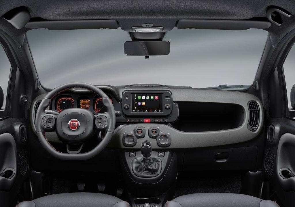 2021 Yeni Fiat Panda Kokpiti