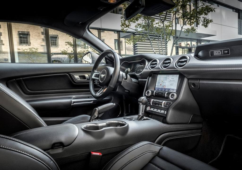 2021 Yeni Ford Mustang Mach 1 İçi