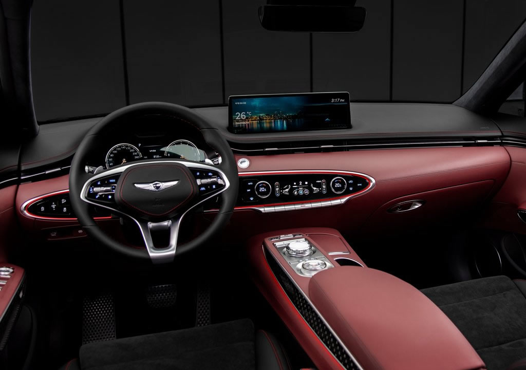 2021 Yeni Genesis GV70 İçi