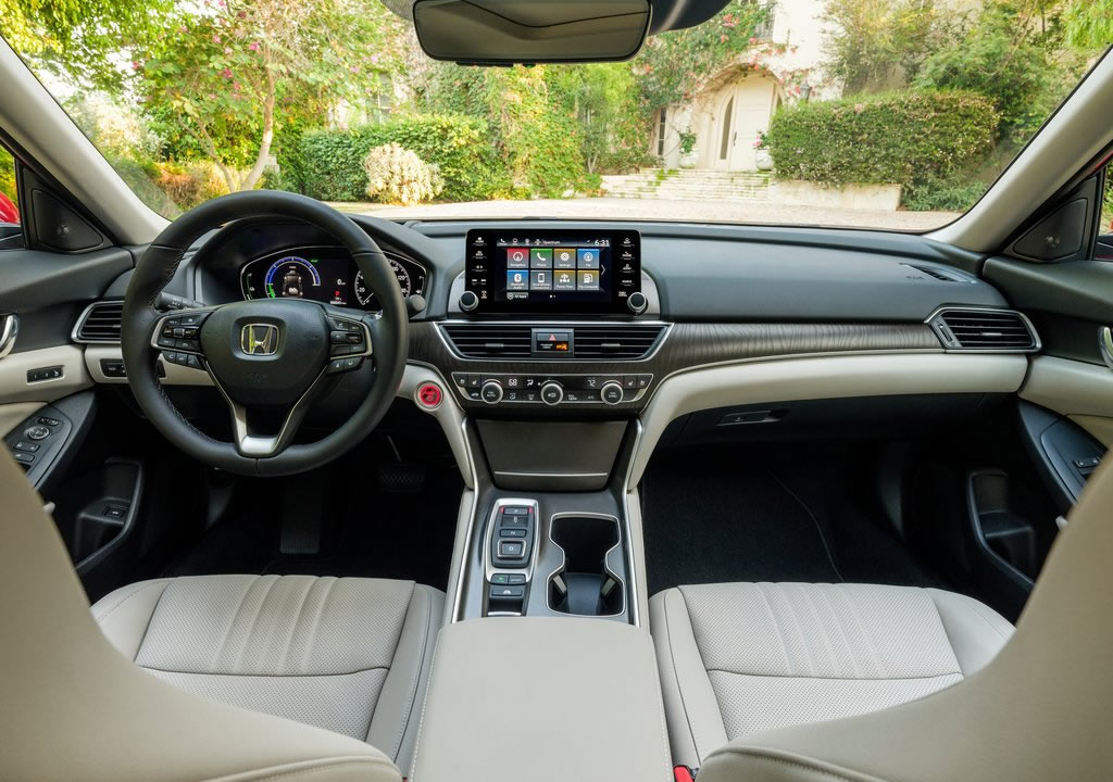 2021 Yeni Honda Accord Hybrid Kokpiti