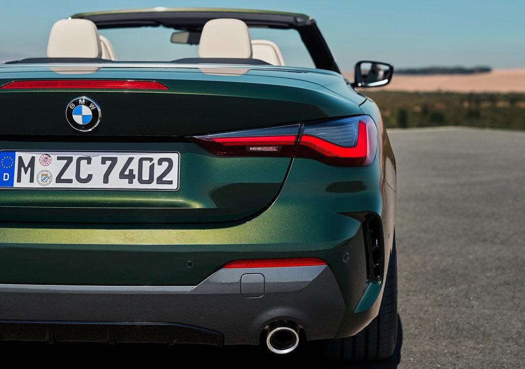 2021 Yeni Kasa BMW 4 Serisi Cabrio