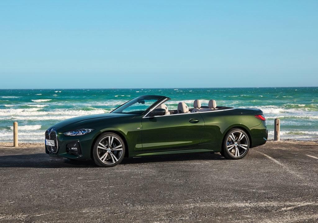 2021 Yeni Kasa BMW 4 Serisi Cabriolet