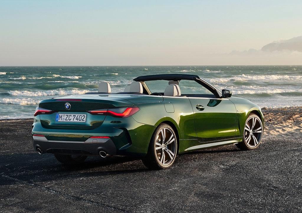 2021 Yeni Kasa BMW 4 Serisi Cabriolet Fotoğrafları
