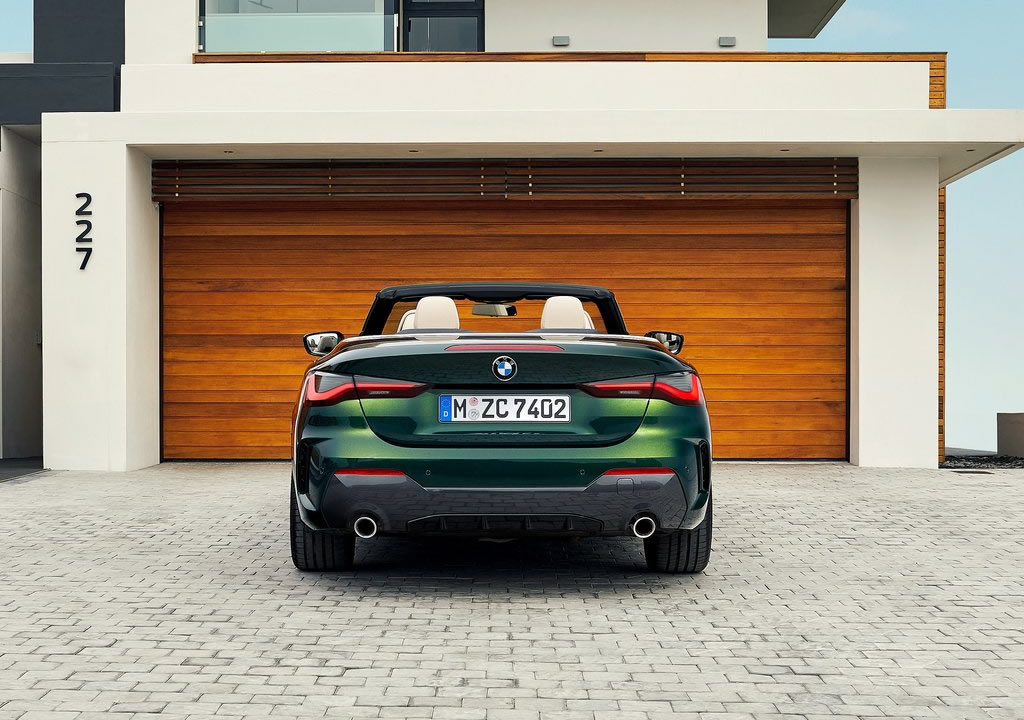 2021 Yeni Kasa BMW 4 Serisi Cabriolet Türkiye