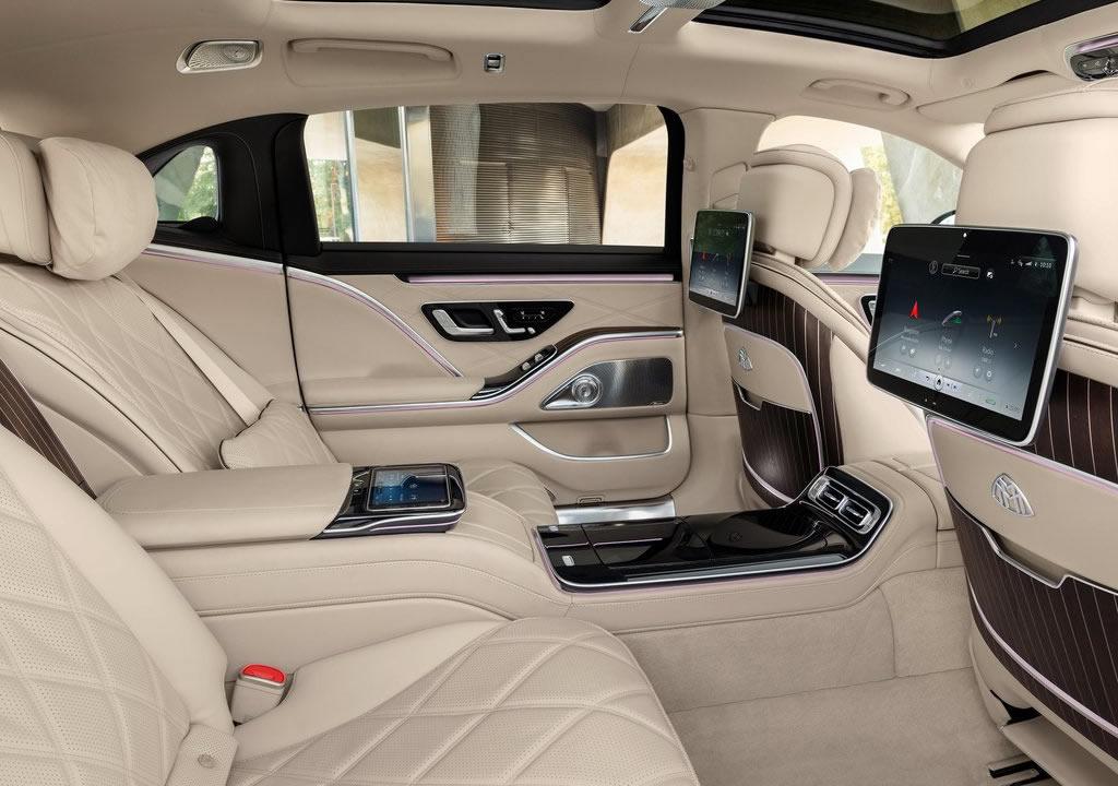 2021 Yeni Mercedes-Maybach S-Serisi Arka Alanı