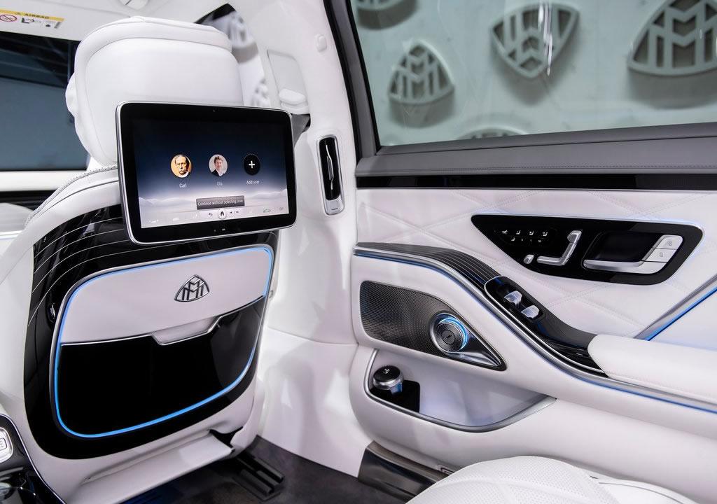 2021 Yeni Mercedes Maybach S-Serisi Fotoğrafları