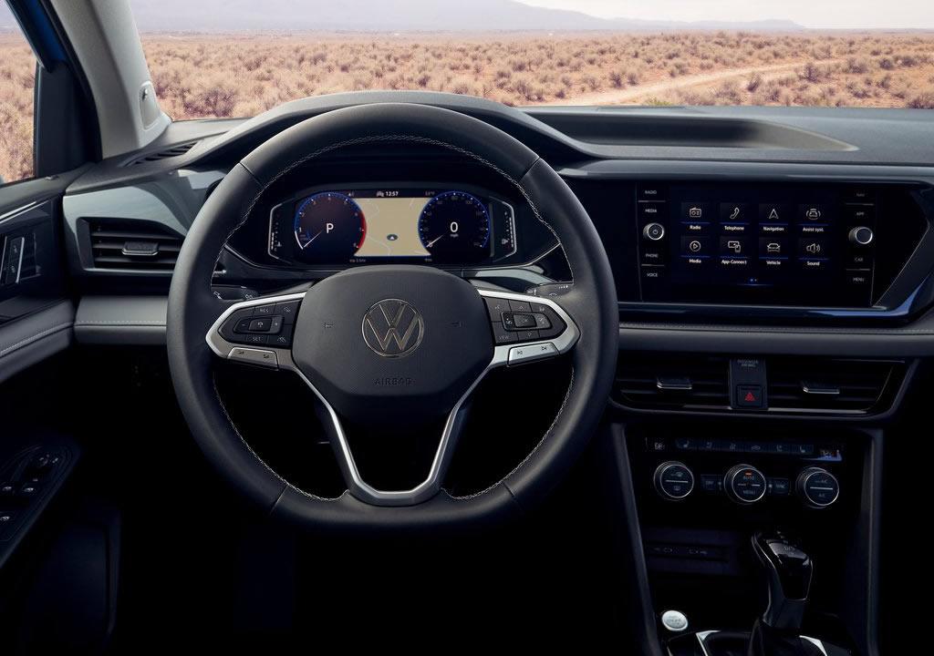 2022 Yeni Volkswagen Taos Kokpiti