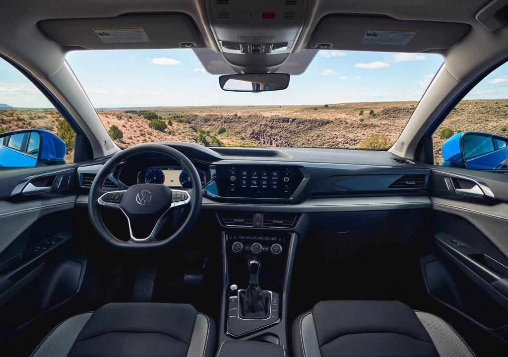 2022 Yeni Volkswagen Taos İçi