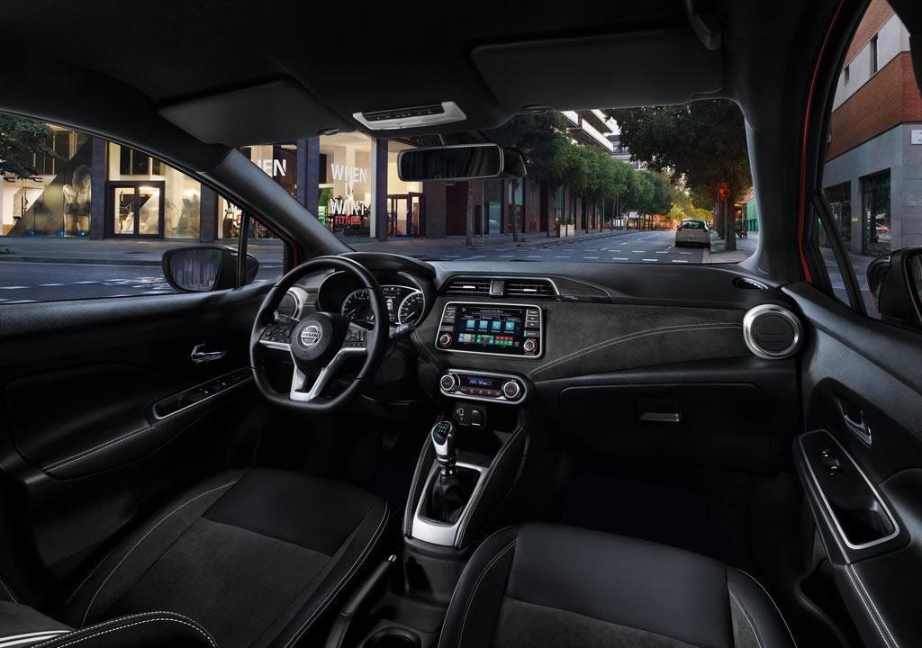 Makyajlı 2021 Nissan Micra Kokpiti