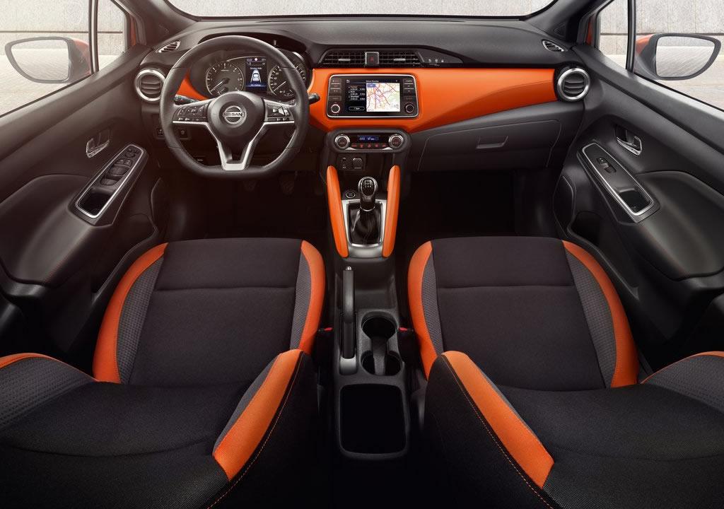 Makyajlı 2021 Nissan Micra İçi
