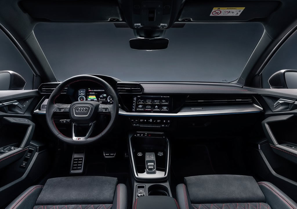 2021 Audi A3 Sportback 45 TFSI e Kokpiti