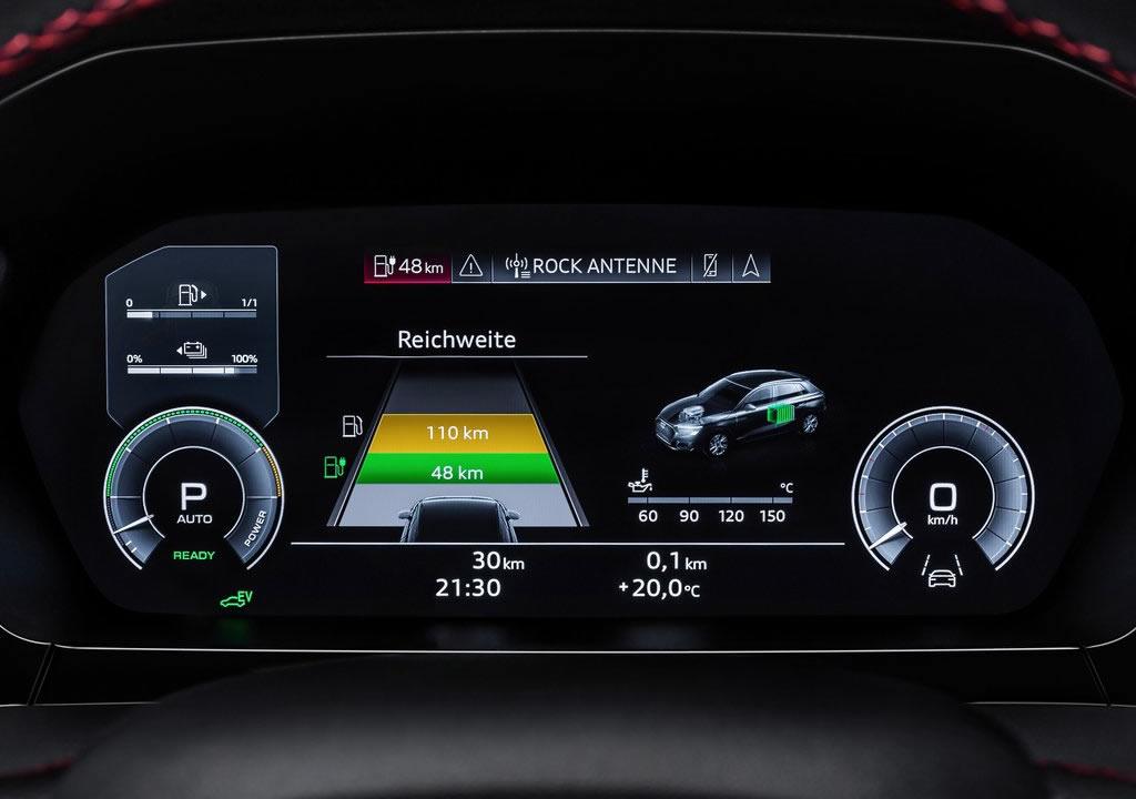 2021 Audi A3 Sportback 45 TFSI e Donanımları